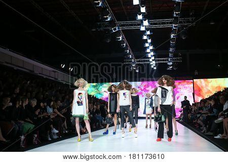 Bipa Fashion.hr Fashion Show 2017 : Marina Design, Zagreb, Croatia.