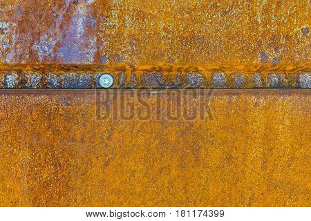Rusty Grunge Aged Grey metal Texture - Old Stainless Steel Background with Scratches - Monochrome Dirty Metallic Surface Close up