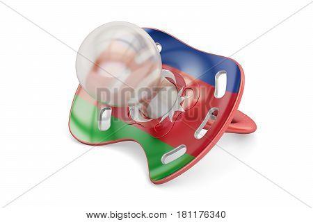 Azerbaijani Maternity and birthrate in Azerbaijan concept 3D rendering