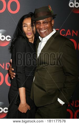 LOS ANGELES - APR 8:  Khandi Alexander, Joe Morton at the