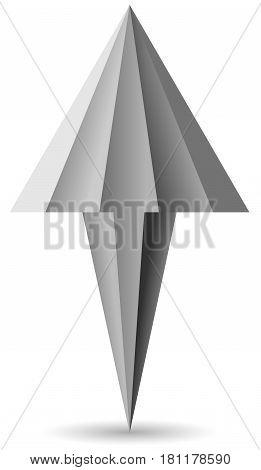 Cursor Arrow Mouse - Stock Image. EPS 10
