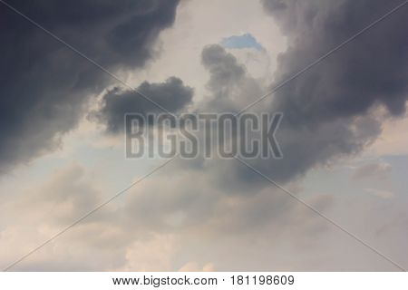 storm cloud before thunder storm can be used as design background
