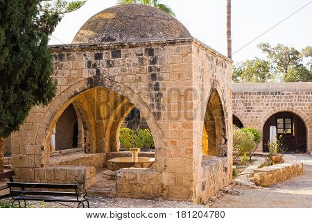 old Monastery of Agia Napa in Cyprus.
