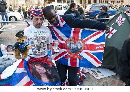 Royal Wedding 2011 Campers