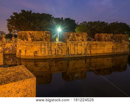Anping Small Fort At Night
