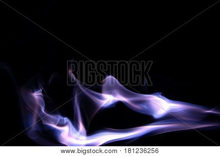 Smoke Color photo / Smoke is a collection of airborne solid and liquid particulates and gases emitted when a material undergoes combustion