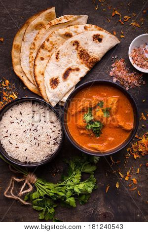 Hot Spicy Chicken Tikka Masala