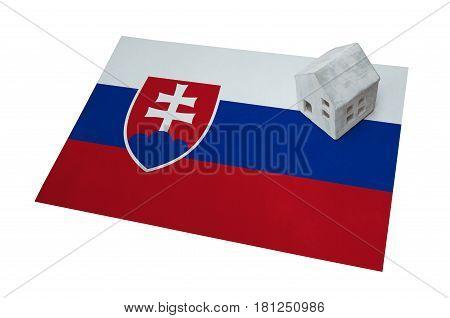Small House On A Flag - Slovakia