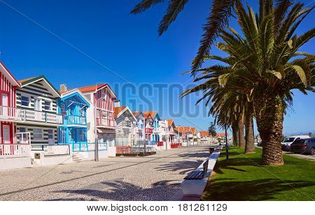 Fisherman's Village. Portugal, Costa Nova