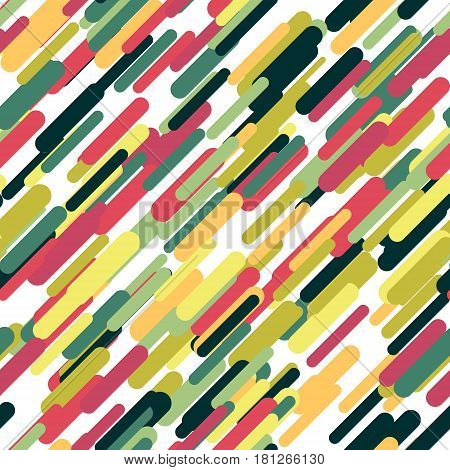 Vector Seamless Parallel Geometric Rectangle Diagonal Lines Pattern Background