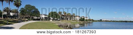Residential park at Orlando Florida United States
