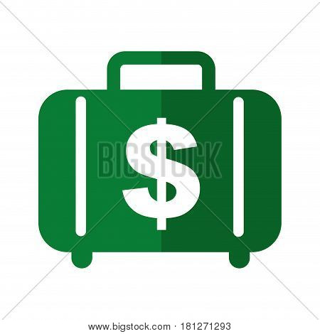 money portfolio isolated icon vector illustration design