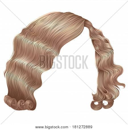 woman hairs kare blond colors . beauty fashion .