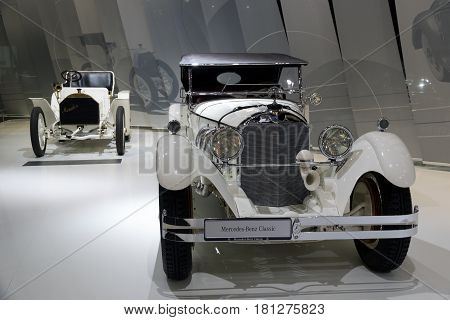 Mercedes Benz Type S W06 And Mercedes Simplex 40 Ps Vintage Car