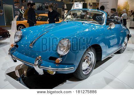 1963 Porsche 356B Carrera 2 Cabriolet Classic Car