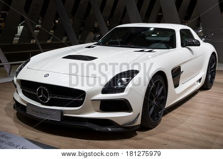 2013 Mercedes Benz Sls Amg Coupe Black Series (c197) Sports Car