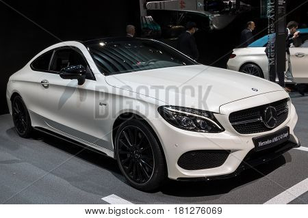 2017 Mercedes Amg C43 Coupe Car