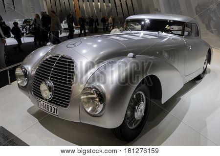 1938 Mercedes Benz 540K Stromlinienwagen W29 Vintage Car