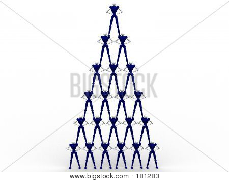 Pyramid Of People