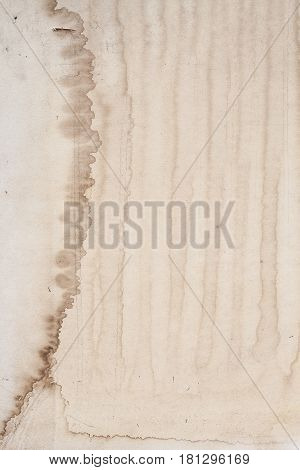 The grunge old paper and dirty vintage background and texture with space.