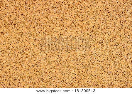 Close-up image of cork surface texture or background