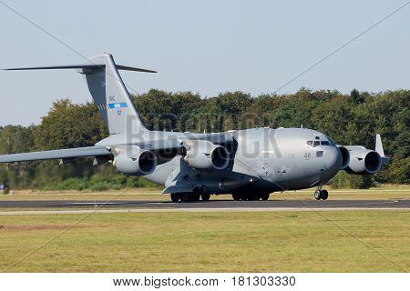 C-17 Military Cargo Aircraft