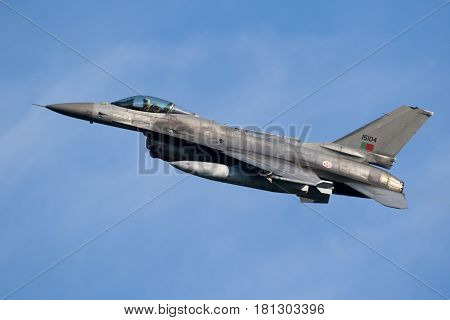 Portugal Air Force F-16 Fighter Jet Aircraft