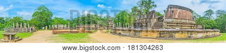 In Sacred City Of Polonnaruwa