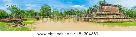 The Shrines Of Polonnaruwa