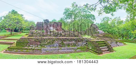 The King's Palace In Polonnaruwa
