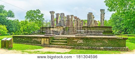 The Pearls Of Polonnaruwa