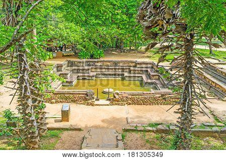 The Royal Baths Of Polonnaruwa