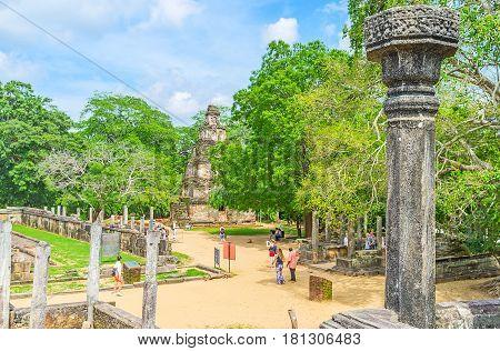 The Landmarks Of Dalada Maluwa