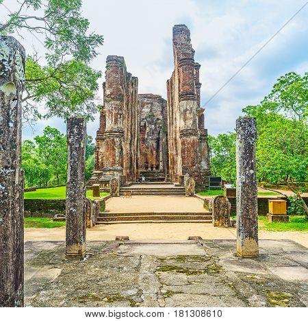 Visit Lankathilaka Image House
