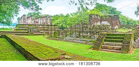 Among The Ruins Of Polonnaruwa