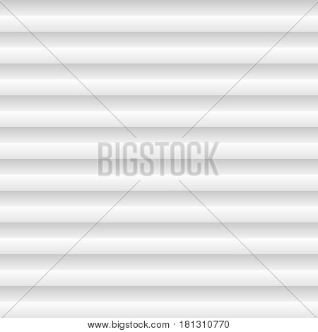 Background of flat and paper lines. The stripes cast a uniform shadow over the canvas. Light white illustration. Wallpapers for the web