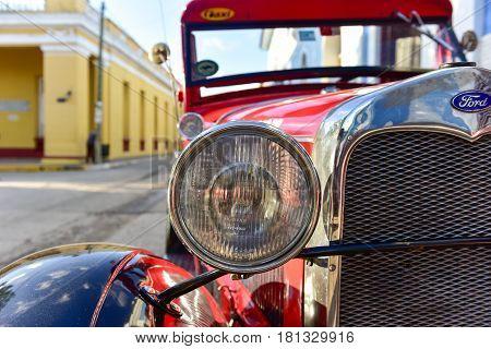 Classic Car - Trinidad, Cuba