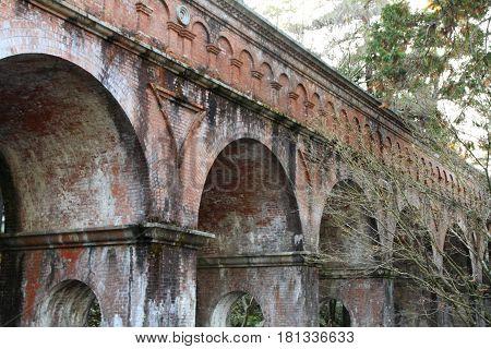 Aqueduct In Nanzen Ji, Kyoto, Japan