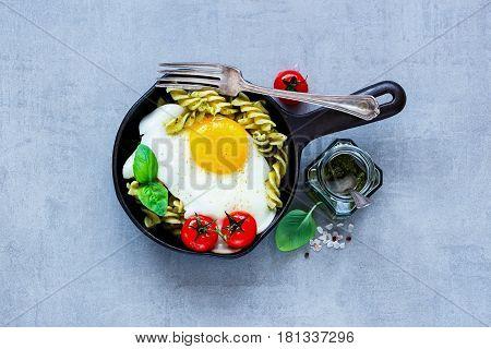 Italian Pasta In Pan