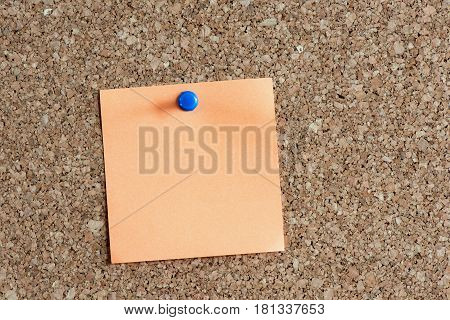 Time Management Concept With Reminder Color Paper On Cork Board