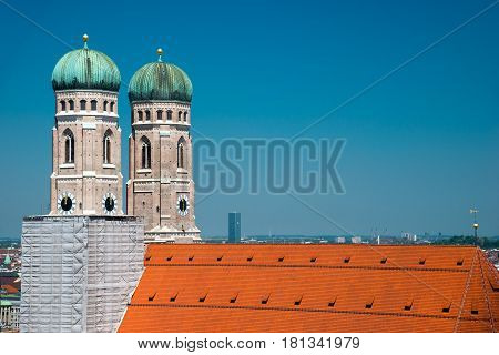 Munich, Frauenkirche Cathedral of Our Dear Lady, Bavaria, Germany