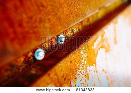 Rusty Grunge Aged Grey Metal Texture - Old Stainless Steel Background With Scratches - Monochrome Di