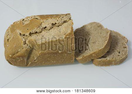 Homemade organic bread Material siyez wheat. so delicious