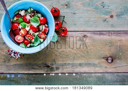 Salad Bowl With Vegetables