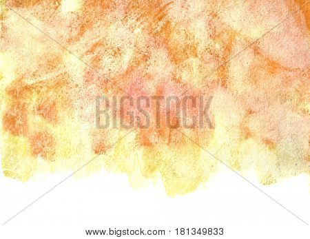 Pale orange background with isolated edge. Element for your design