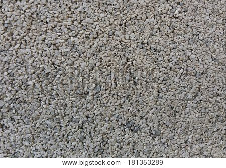 The detail of a rough stone surface