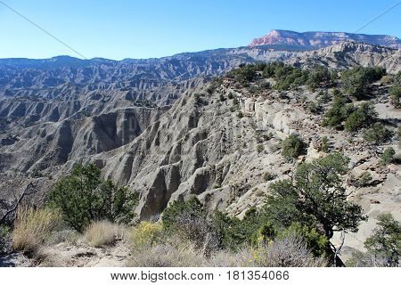 Fantastic mountain landscape created by nature. Zion National Park.Utah. Background