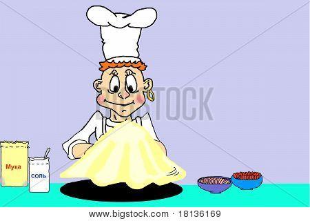 cook baker