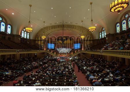 Moody Church Service, Chicago December 11th, 2016