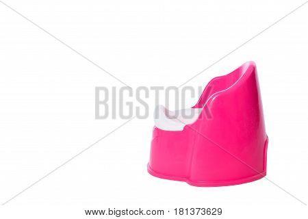 A Pink Children's Potty